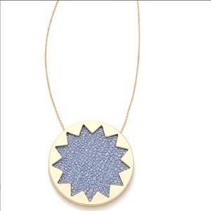 House of Harlow 1960 Blue Sunburst Necklace